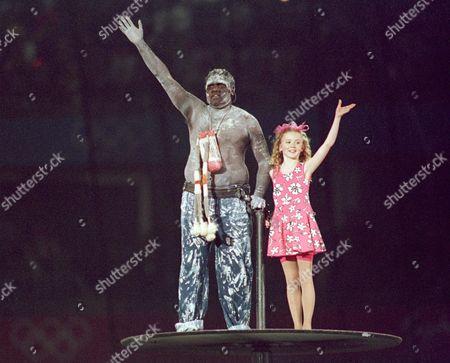 Editorial image of Opening Ceremony Sydney Olympics  Australia Sydney - 15 September 2000
