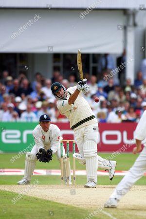 Mark Waugh (Australia) England v Australia 3rd Test Match Trent Bridge Nottingham 4/08/2001 Great Britain Nottingham