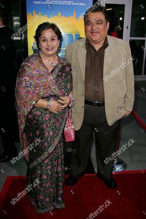 Harish Patel and wife