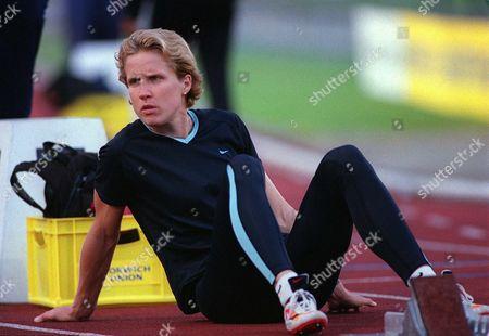Katharine Merry (GBR) Womens 400m British Grand Prix Crystal Palace 22/7/01 Great Britain London