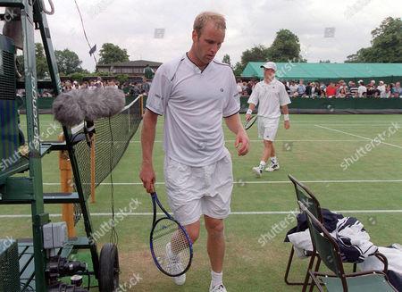 Editorial photo of Wimbledon - 01 Jul 2000