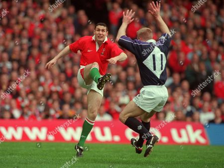 Editorial picture of Wales v Scotland - 18 March 2000