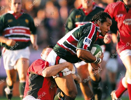 Freddie Tuilagi (Leicester) Leicester v Llanelli Heineken European Cup 29/09/2001 Great Britain Leicester