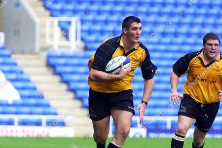 John Dunbar (Newcastle) London Irish v Newcastle Falcons 23/09/2001 Great Britain London
