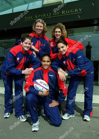 Editorial image of England's Women's Rugby - 10 Apr 2002