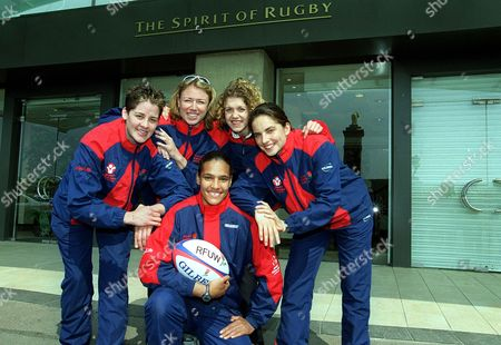 Editorial picture of England's Women's Rugby - 10 Apr 2002