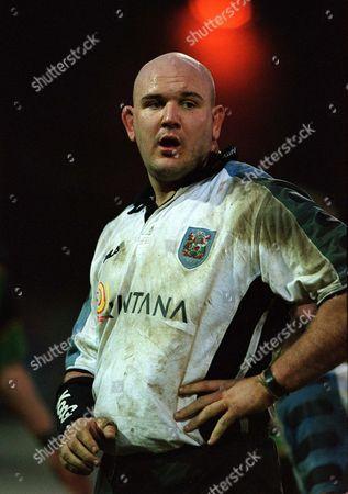 Craig Quinnell - Cardiff Northampton v Cardiff The European Cup 12/1/02 Great Britain Northampton