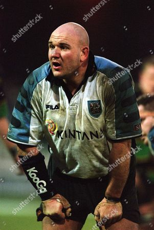 Craig Quinnell - Cardiff Northampton v Cardiff The European Cup 12/1/02 Great Britain Northampton