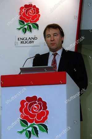 RFU Chief Executive Francis Baron RFU Press Conferance Twickenham 9/05/2002 Great Britain London