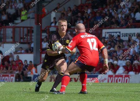 Keith Mason (St Helens) London Broncos v St Helens Rugby League SuperLeague 3/08/2003