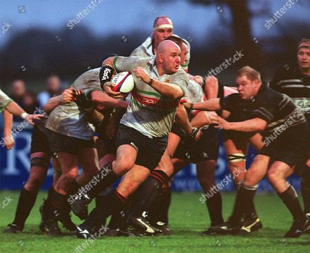 Craig Quinnell (Worcester) Worcester v Otley 18/01/2003 Great Britain Worcester