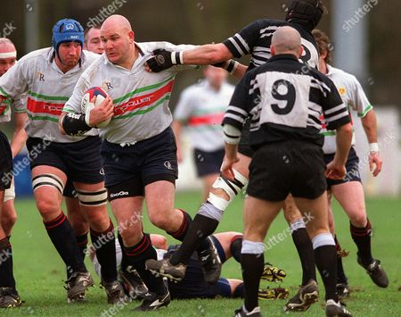Stock Image of Craig Quinnell (Worcester) Worcester v Otley 18/01/2003 Great Britain Worcester