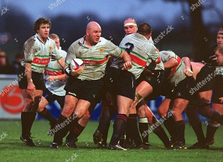 Stock Picture of Craig Quinnell (Worcester) Worcester v Otley 18/01/2003 Great Britain Worcester