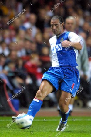 Lorenzo Amoruso (Blackburn) Charlton Athletic v Blackburn Rovers 27/9/2004