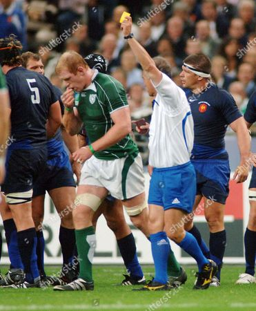 Editorial picture of RWC Grp: France 25 Ireland 3 - 21 Sep 2007