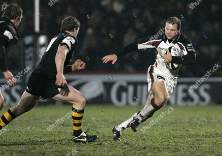 Ollie Phillips (Falcons) Wasps v Newcastle Falcons Rugby Union The Guinness Premiership The Causeway Stadium High Wycombe Bucks UK 08/01/2006 England High Wycombe