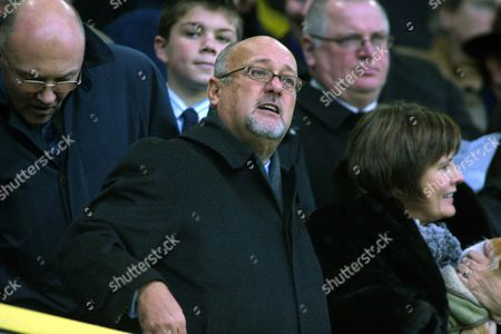 Peter de Savary (Millwall Chairman) Millwall v Everton FA Cup 3th rd 7/1/2006