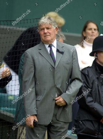 Alan Mills (Tournament Referee) Wimbledon Tennis Championships 2005 25/6/2005