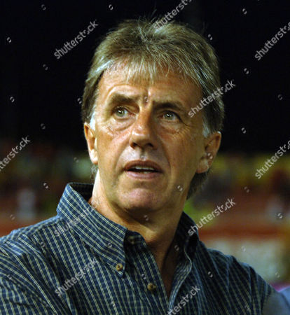 Mark Lawrenson (BBC Radio and TV Presenter) Macedonia v England Skopje Stadium 6/9/2006
