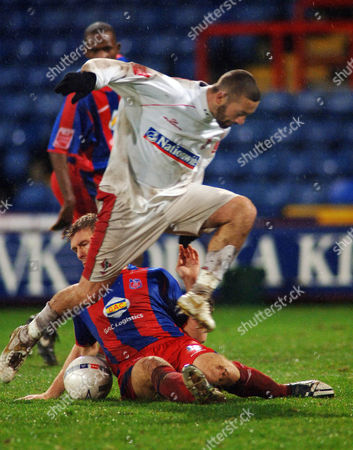 Stock Picture of Christian Roberts (Swindon) Crystal Palace v Swindon Town FA Cup 3rd rd 6/1/2007