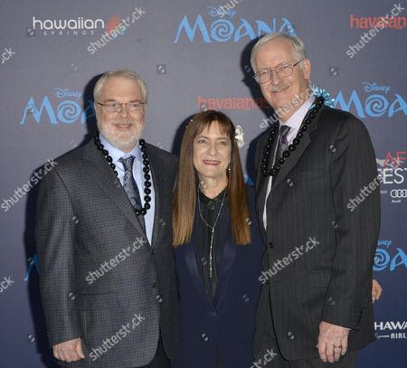 Ron Cleents, Osnat Shurer, John Musker