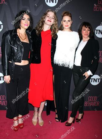 Sophia Silver, Tess Frazer, Christiane Siedel, and Samantha Soul