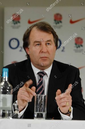 Francis Baron (Chief Executive) Martin Johnson Press Conference 18/4/2008 Twickenham