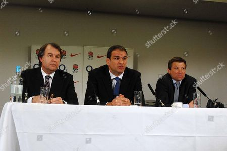 Francis Baron (Chief Executive) Martin Johnson (New England Rugby Union coach) Rob Andrew (RFU Performance director) Martin Johnson Press Conference 18/4/2008 Twickenham