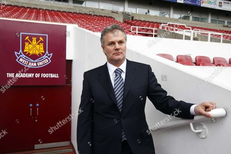 Gianluca Nani New Technical Director for West Ham United Press Conference at Upton Park 17/03/2008 ENGLAND LONDON