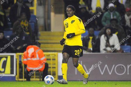 Jason Morrison (Jamaica and Ferencvaros) Jamaica Vs Nigeria International Friendly New Den London 11/02/2009