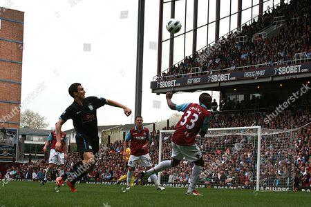 Football - Premier League - West Ham United vs Aston Villa Victor Obinna Of West Ham Upton Park London