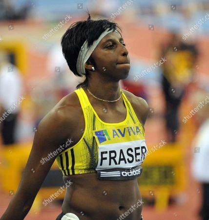 Donna Fraser (GB) women's 200m final AVIVA Grand Prix National Indoor Arena Birmingham 21/02/2009