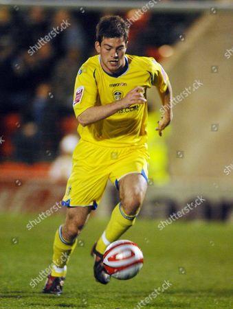 Ben Parker (Leeds) Leyton Orient v Leeds United 7/4/2009