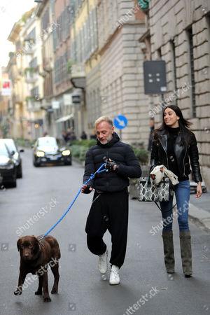 Gianluca Vacchi and girlfriend Giorgia Gabriele