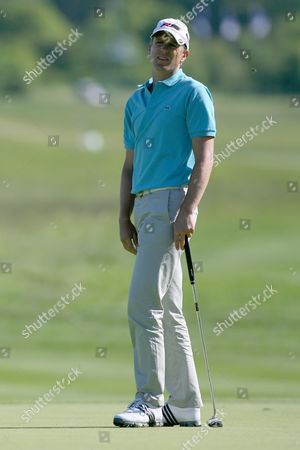 Golf Christian Cevaer at The European Open The London Golf Club 30/05/2009