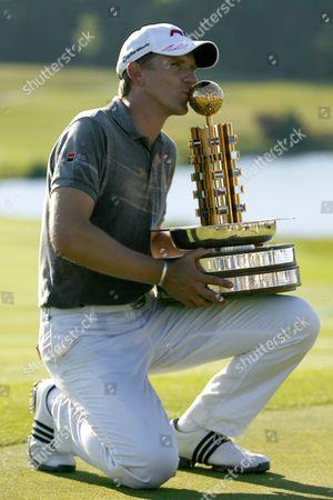 Golf Christian Cevaer winner of The European Open The London Golf Club 31/05/2009
