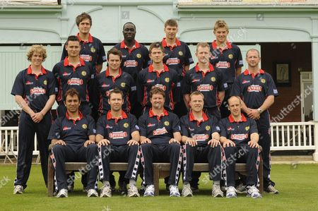 Kent County Cricket Club St Lawrence Ground Canterbury Kent County Cricket Club Press Day - 2009 season Rear: Philip Edwards Robert Joseph Simon Cook and Charlie Hemphrey Middle: Sam Northeast Warren Lee Robert Ferley Joe Denly James Hockley Darren Stevens Bottom: Azhar Mahmood Martin van Jaarsveld Robert Key (Captain) Martin Saggers and James Tredwell Canterbury