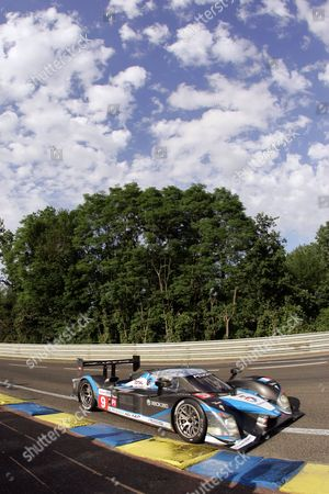 Motorsport - Le Mans 24 hour Race 14/06/2009 Le Mans France The winning Peugeot car #9 Team Peugeot Total Peugeot 908: Alexander Wurz David Brabham Marc Gene - 24 Hour of Le Mans 2009 France Le Mans France