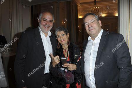 Serge benaim and Isabelle Morini-Bosc