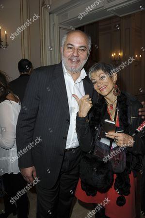 Editorial picture of Globes de Cristal Jury Dinner, Paris, France - 15 Nov 2016