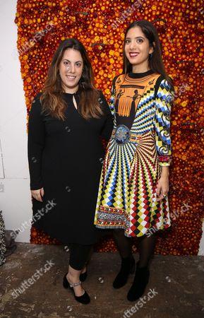 Mary Katrantzou and Noor Fares
