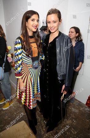 Noor Fares and Camilla Al-Fayed