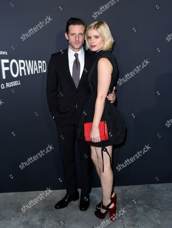 Stock Image of Jamie Bell and Kate Mara