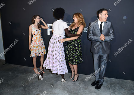 Allison Williams, Kuoth Wiel, Connie Britton and David O Russell