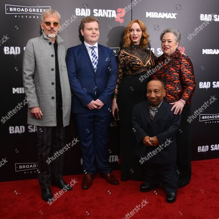 Billy Bob Thornton, Brett Kelly, Tony Cox, Christina Hendricks and Kathy Bates