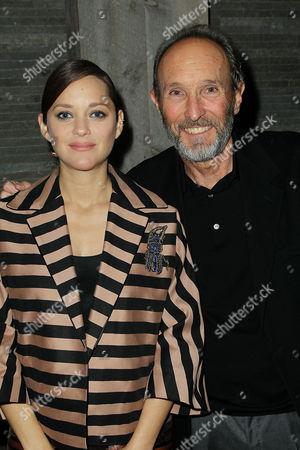 Stock Photo of Marion Cotillard and Steve Starkey