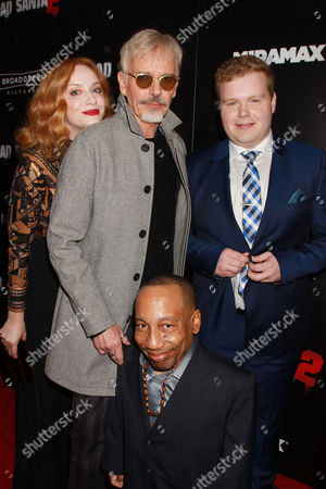 Christina Hendricks, Billy Bob Thornton, Brett Kelly, Tony Cox