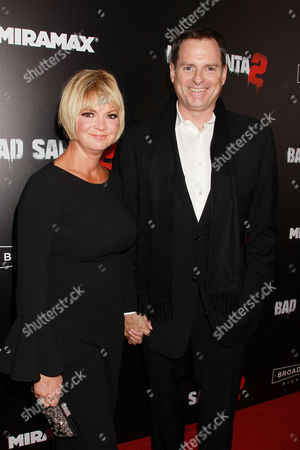 Mark Waters with Wife