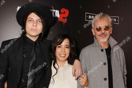 William Thornton, Connie Angland and Billy Bob Thornton