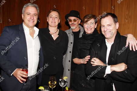 Stock Picture of Jean Martial Ribes,Sophie Jordan, Billy Bob Thornton, Zanne Devine and Mark Waters